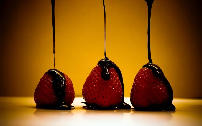 Клубника - Strawberry 2 (70 обоев)