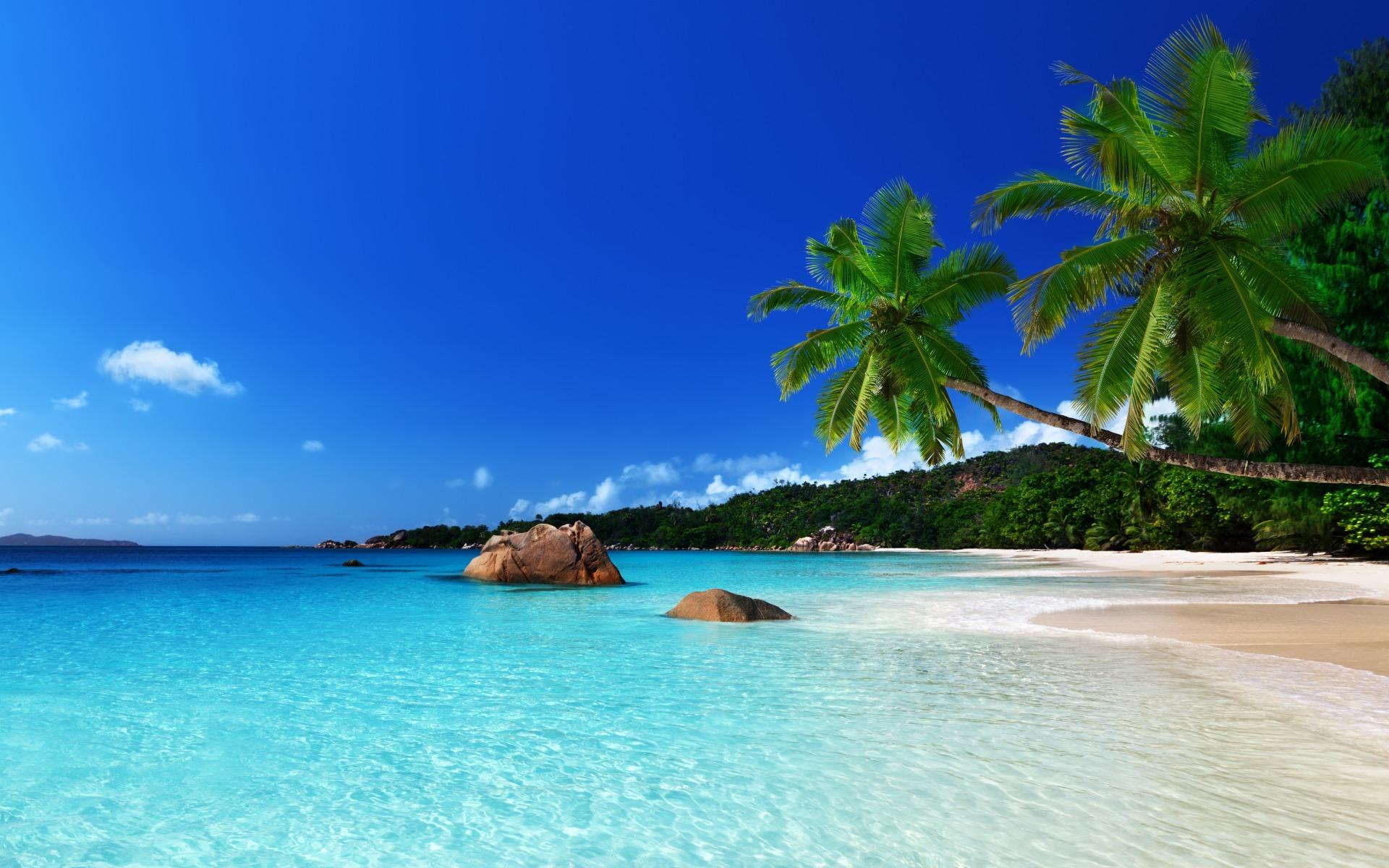 красивые пляжи обои на рабочий стол № 1104561 бесплатно