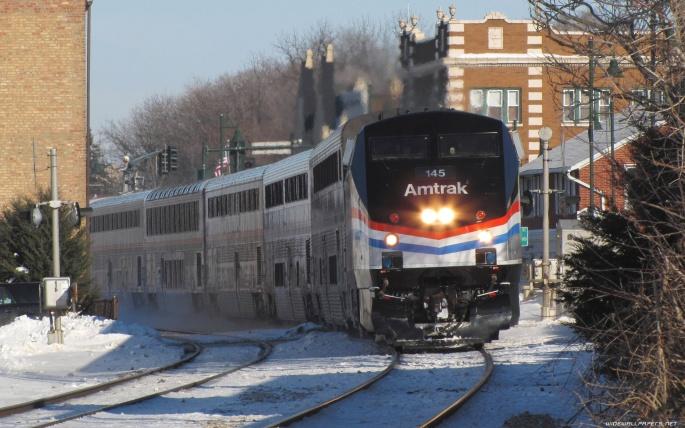 Поезд Amtrak (33 обоев)