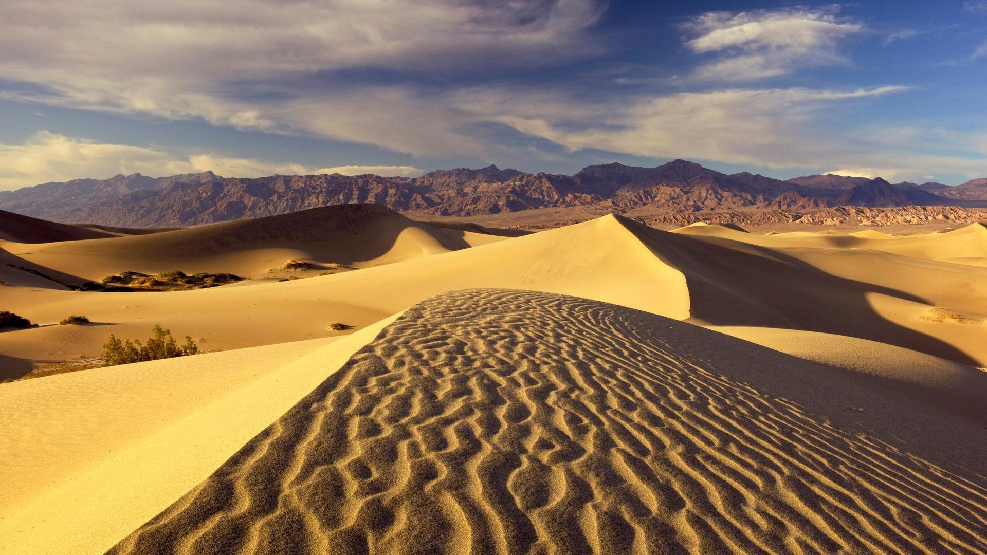 Обои пустыни для рабочего стола
