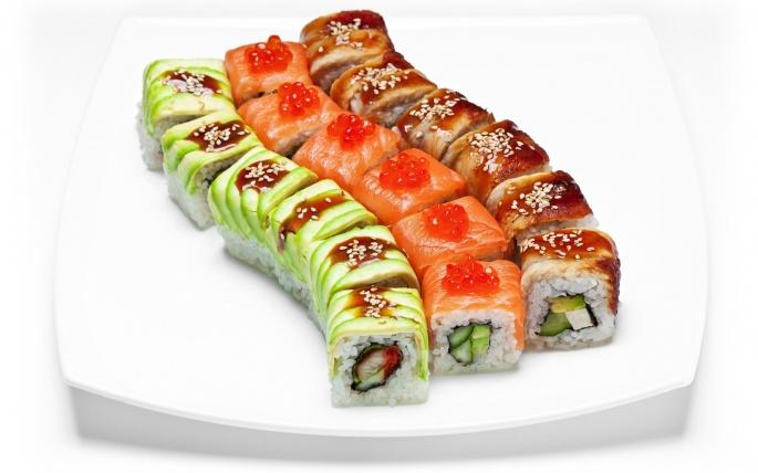 Суши - Sushi (65 обоев)