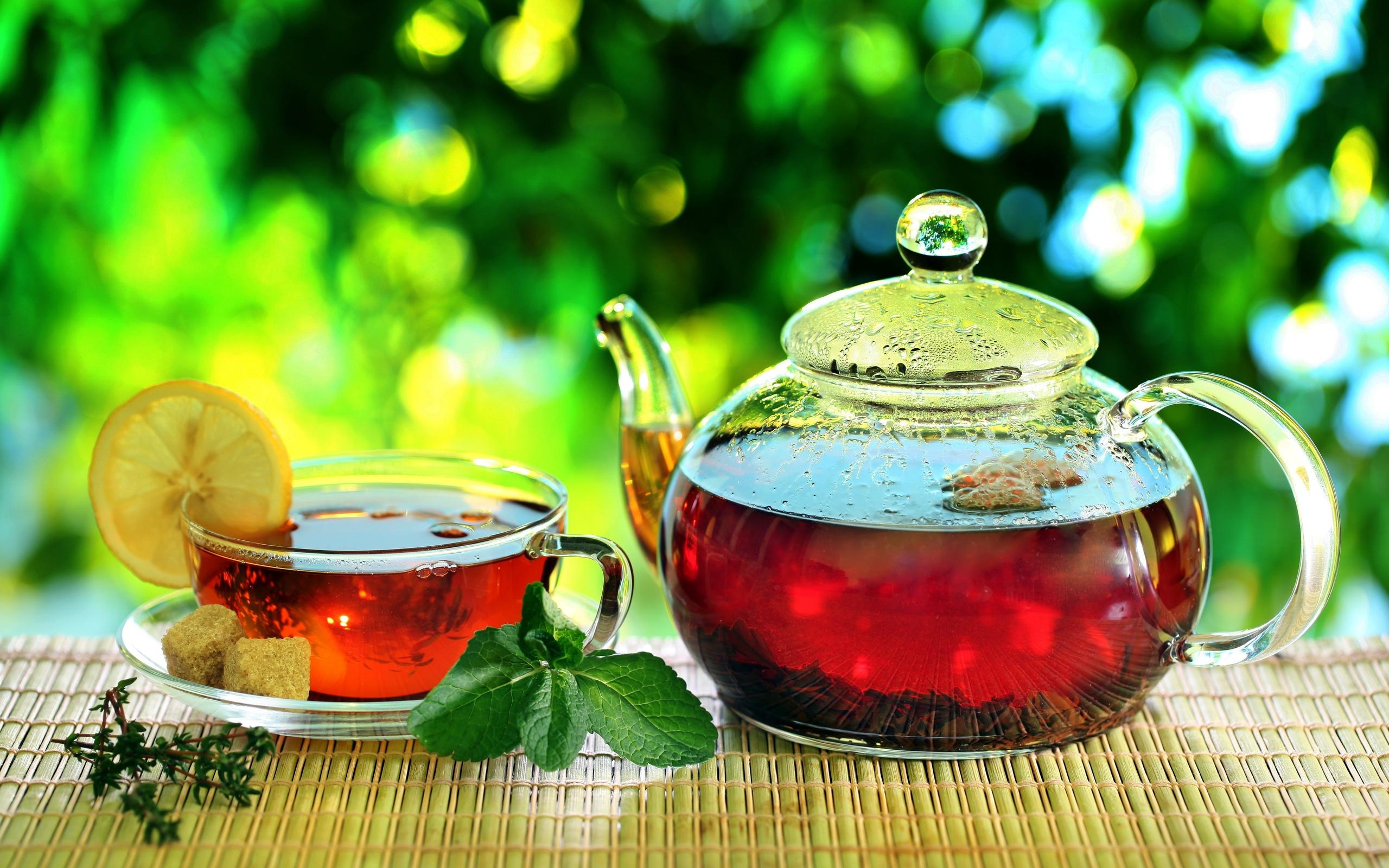 Обои клюква, Заварник, мёд, чай. Еда foto 16
