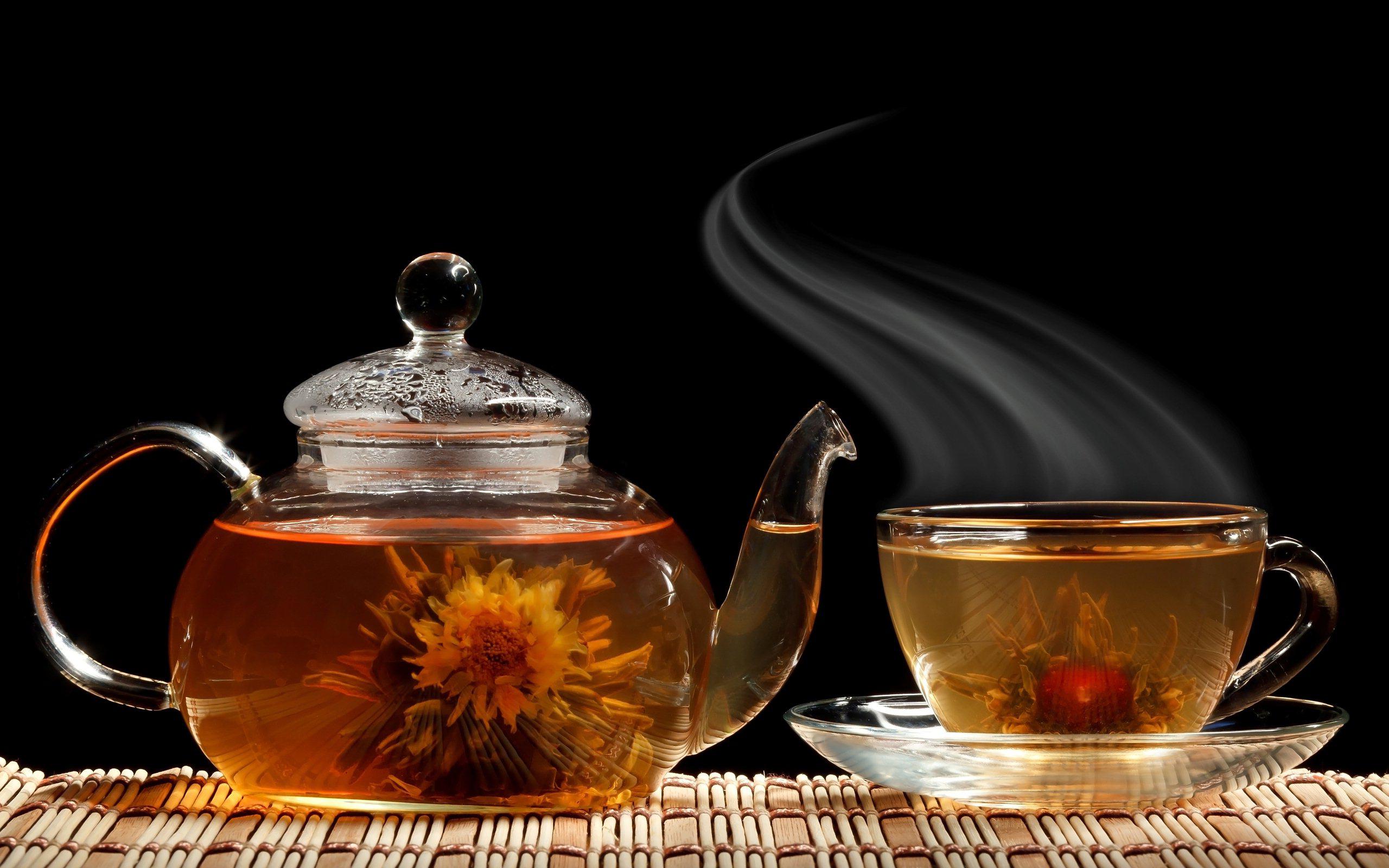 Поздравления связанные с чаем