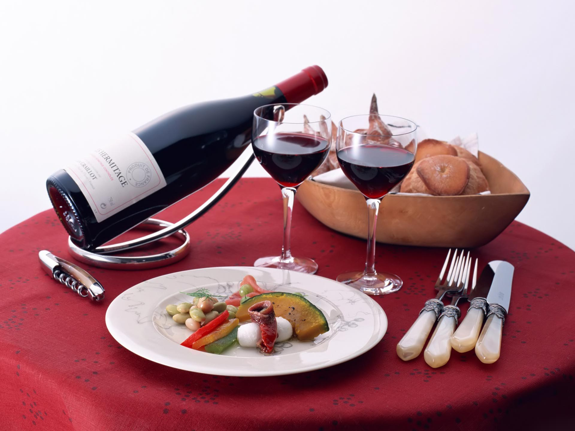 Ужин с вином рецепт