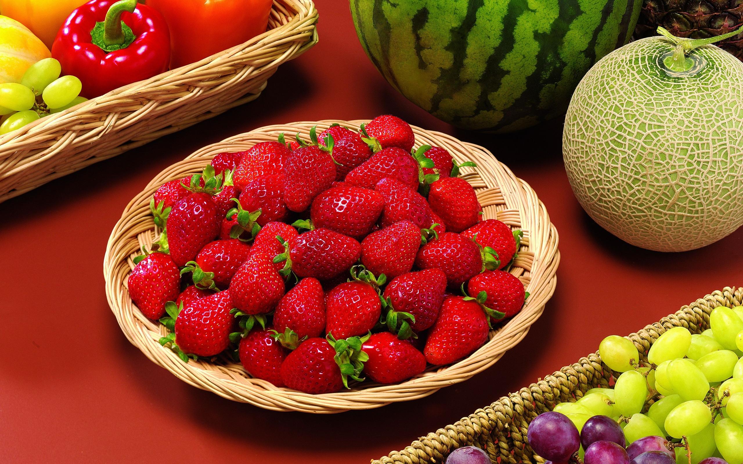 Обои на рабочий стол лето фрукты