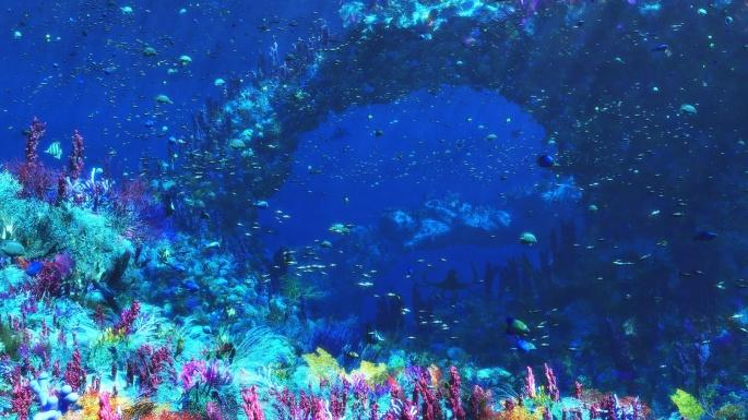 Жизнь под водой (66 обоев)