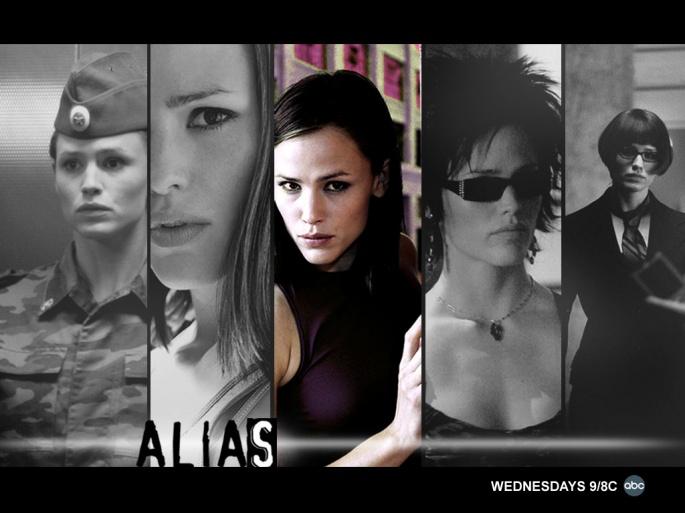 Сериал Alias - Шпионка (127 обоев)