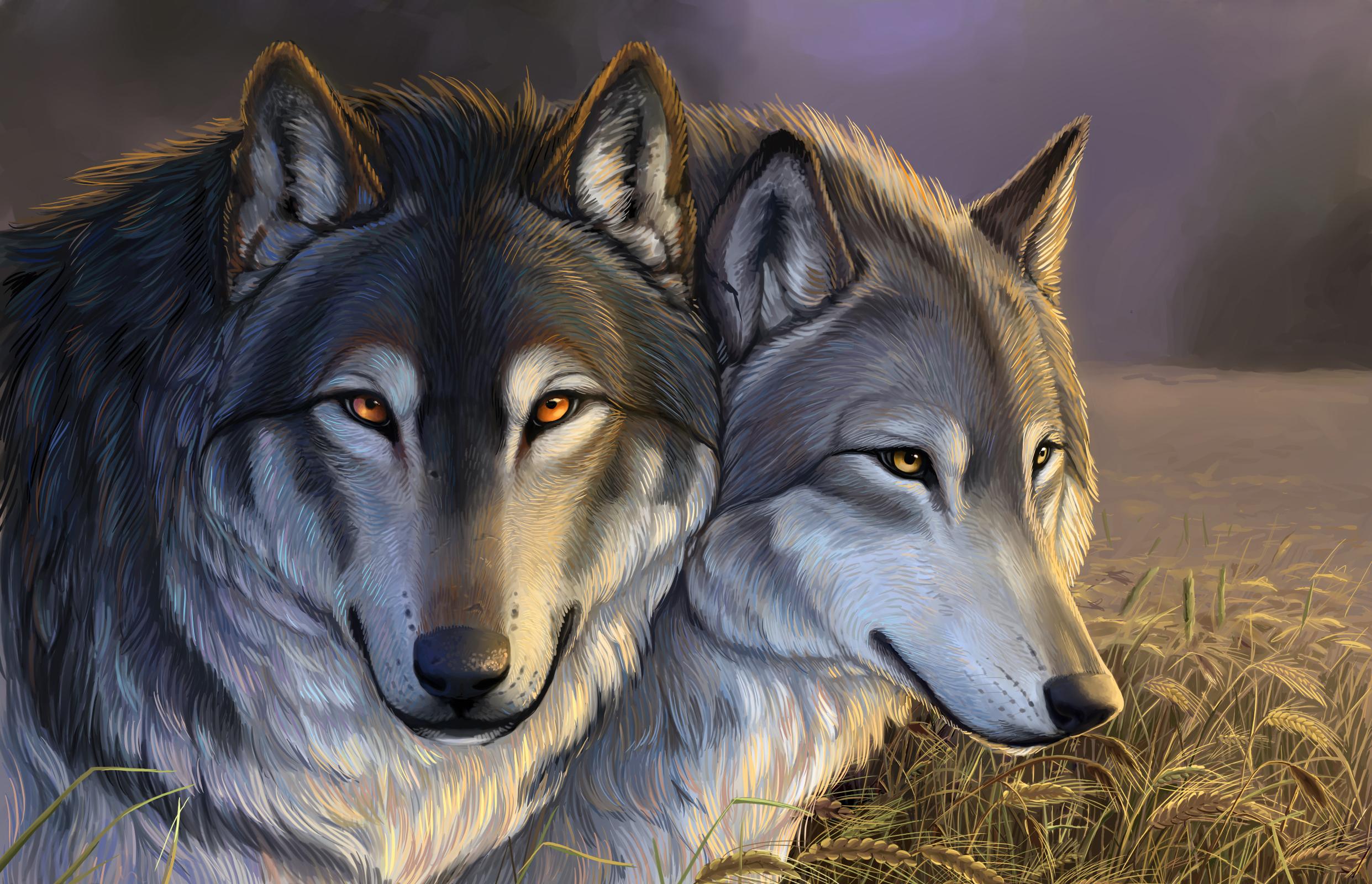 Нарисованные волки своими руками фото 363
