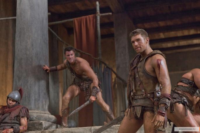 Сериал Spartacus - Спартак (203 обоев)