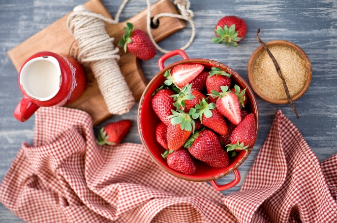 Клубника - Strawberry 3 (80 обоев)