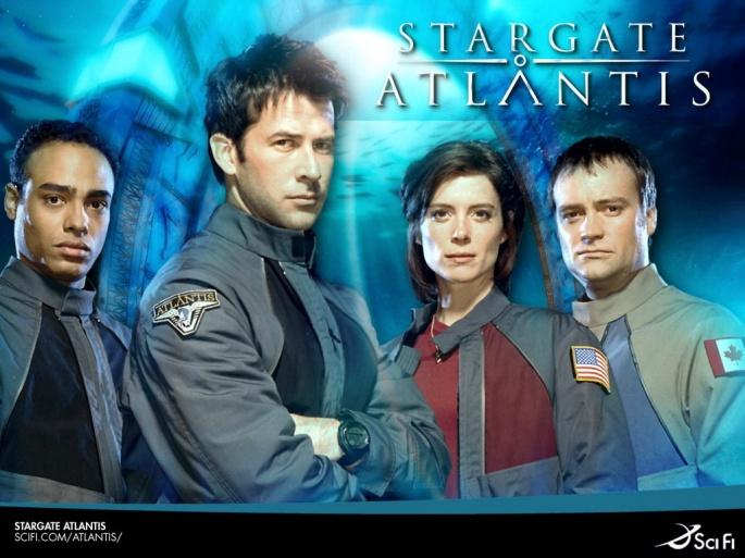 Сериал Stargate Atlantis - Звездные врата Атлантида (108 обоев)
