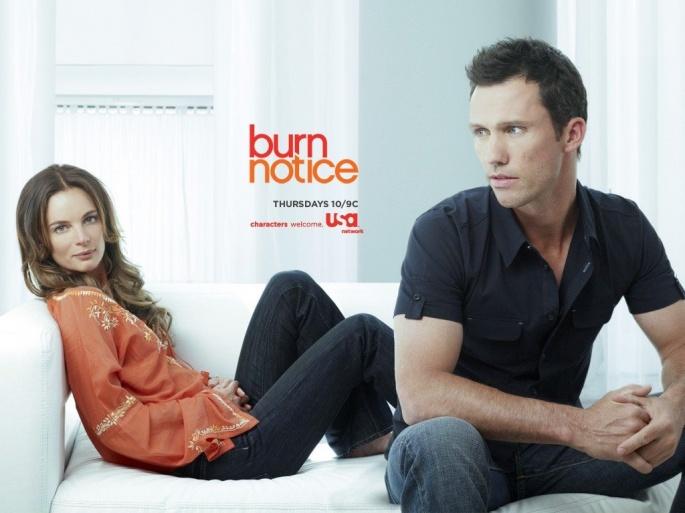 Сериал Burn Notice - Чёрная метка (22 обоев)