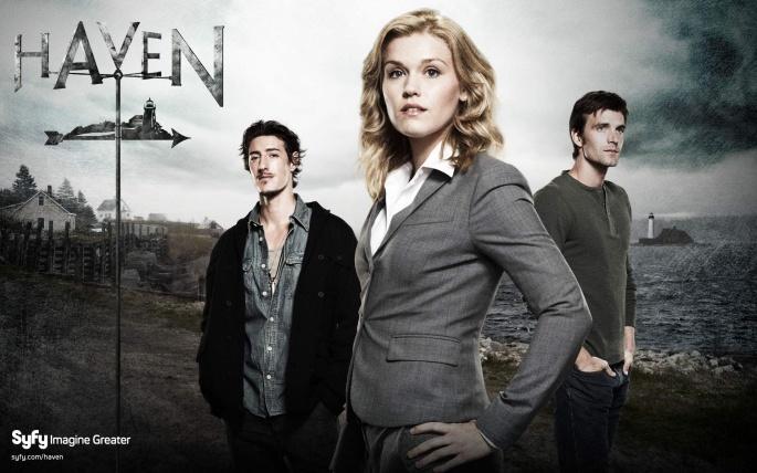 Сериал Haven - Хэйвен(Тайны Хэйвена) (12 обоев)