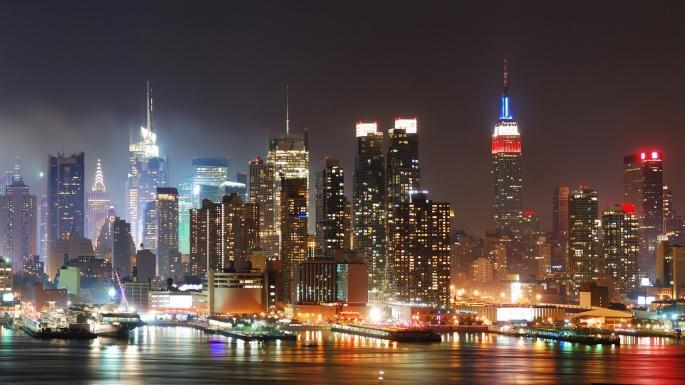 Город. Огни мегаполисов (30 обоев)