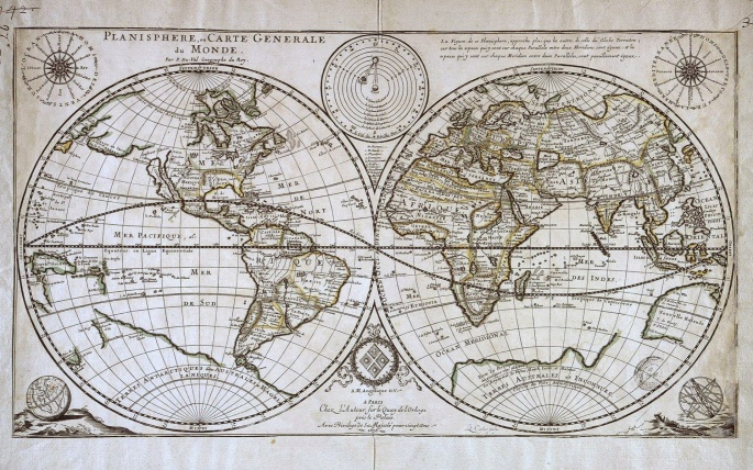 Карты мира (114 обоев)