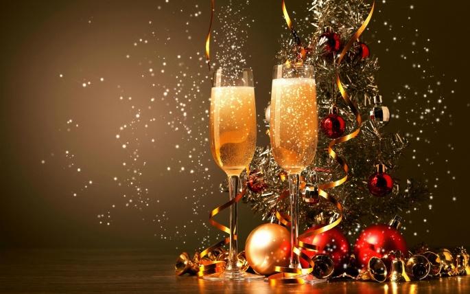 Новый год (212 обоев)