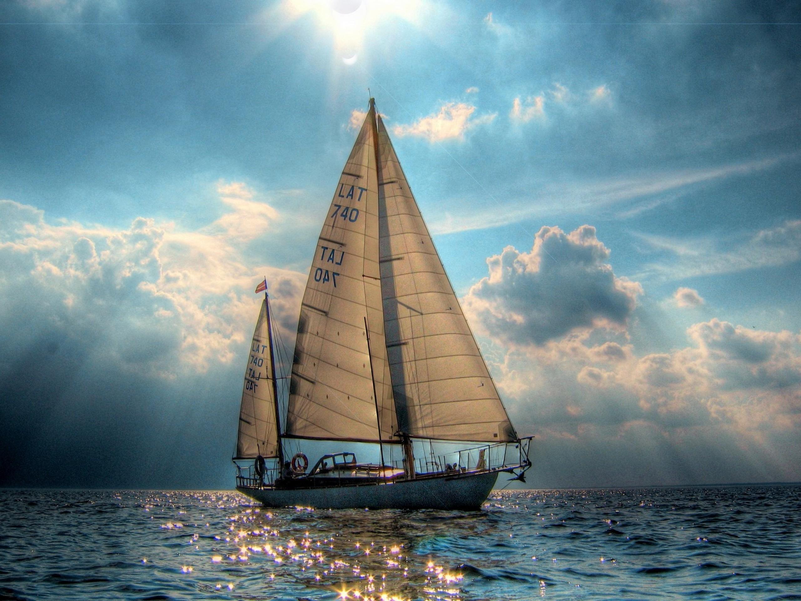 шхуны и лодки парусные