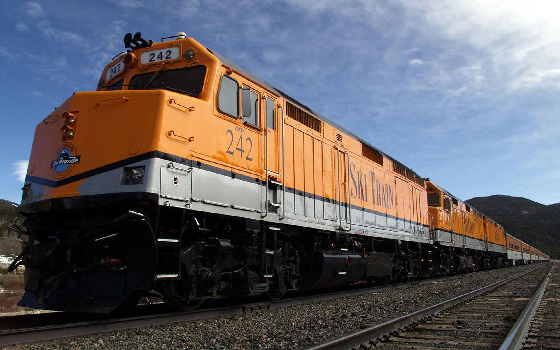 Железнодорожный грузовой транспорт фотографии 3