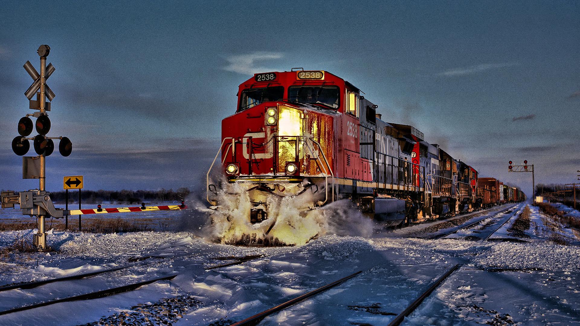 Живые обои поезда на рабочий стол