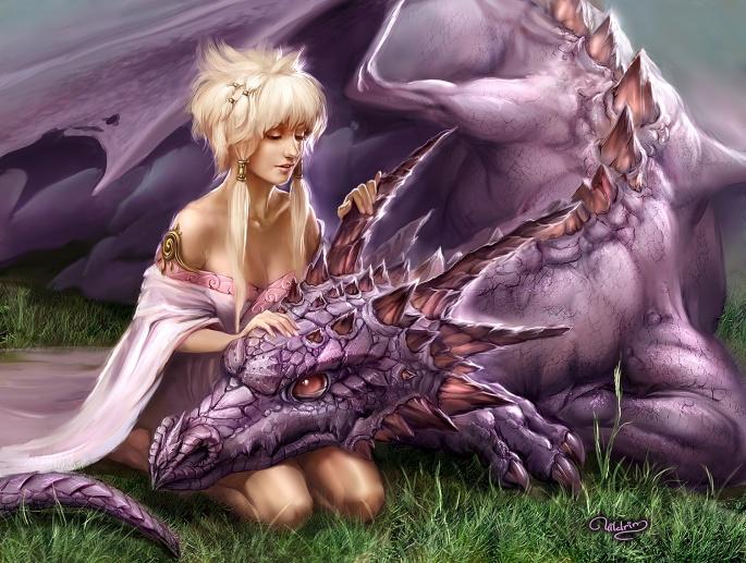 Фантастические драконы (78 обоев)