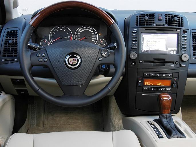 Интерьер автомобиля Cadillac (150 обоев)
