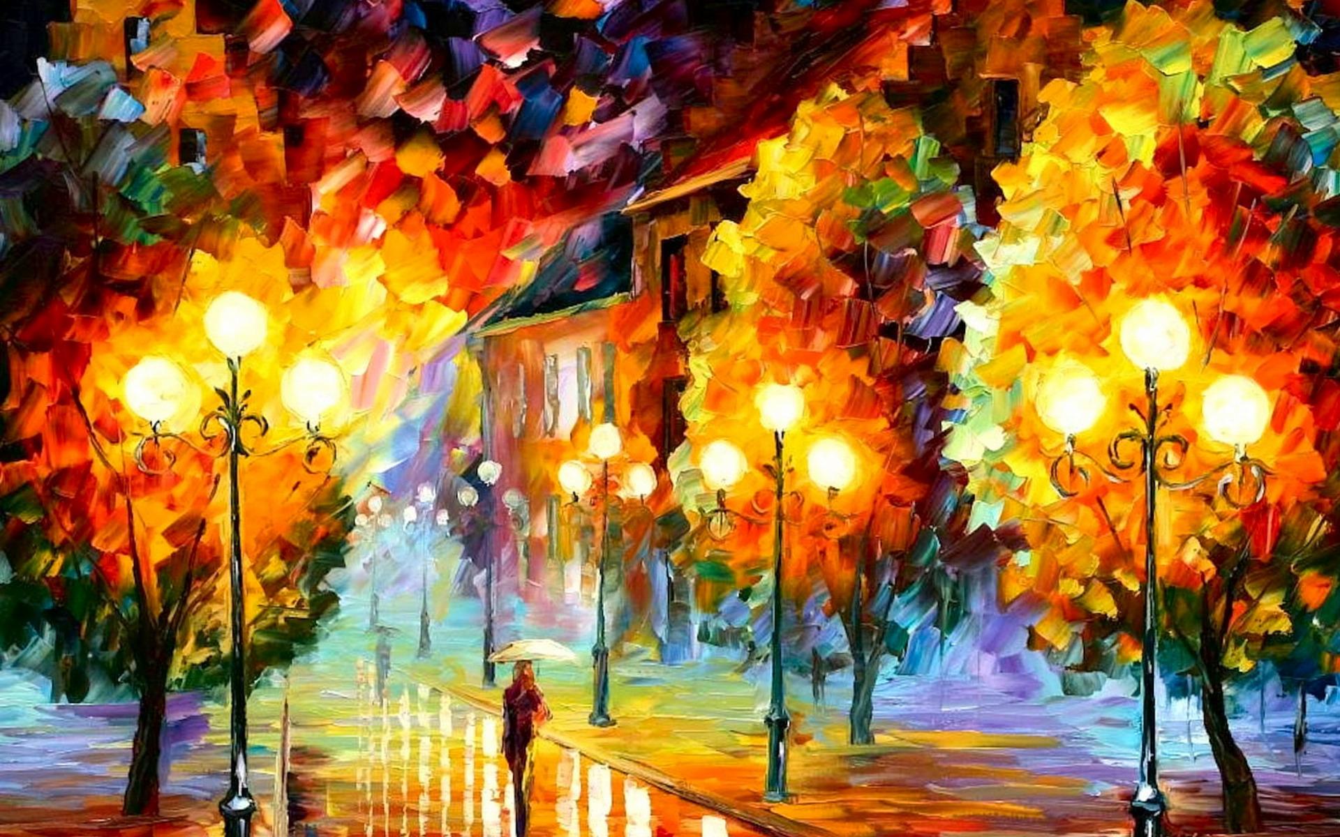 красивые картинки на рабочий стол золотая осень