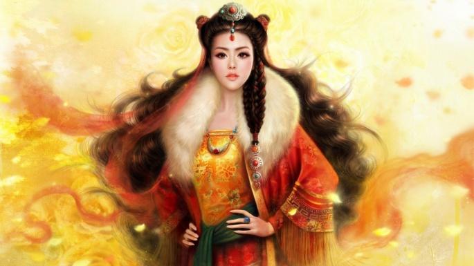 Фэнтези. 100 фантастических азиаток (100 обоев)