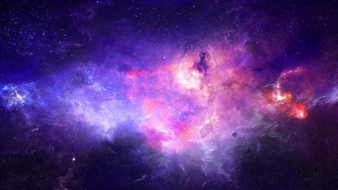 Космос. Ультрафиолет (50 обоев)