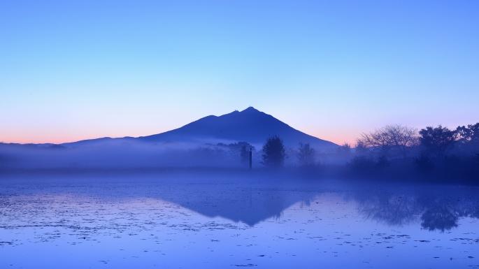 Природа. Жемчужные сети тумана (100 обоев)