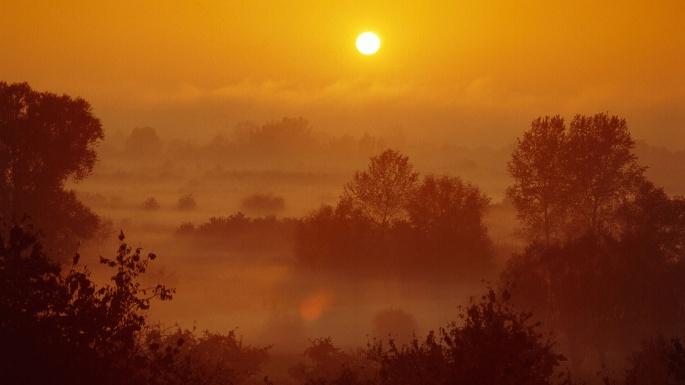 Природа. Золотые закаты (40 обоев)