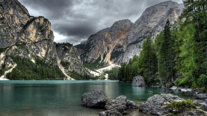 Природа. Горы. Заоблачная даль (100 обоев)