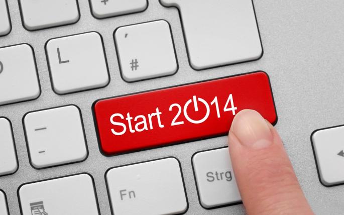 Новый год 2014 (12 обоев)