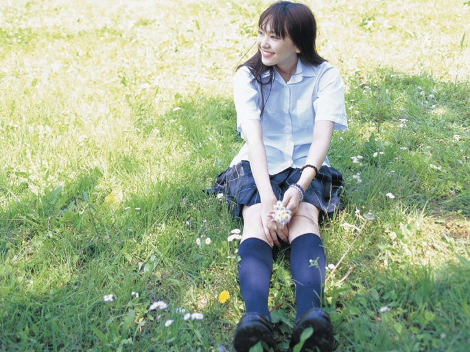 Японские актрисы. Yui Aragaki