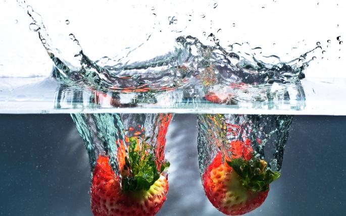 Клубника - Strawberry (60 обоев)