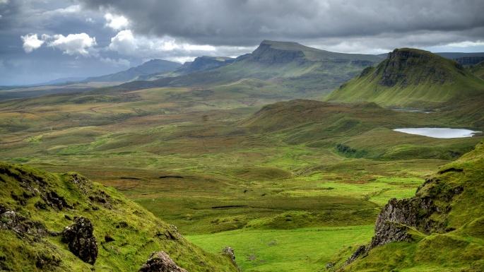 Природа Шотландии (43 обоев)