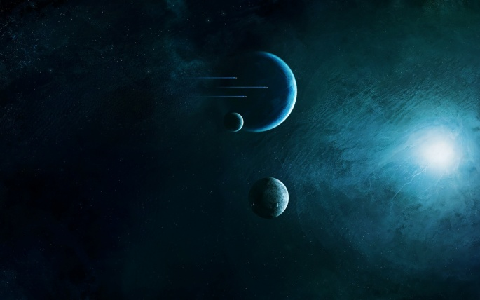 Космический Арт (90 обоев)