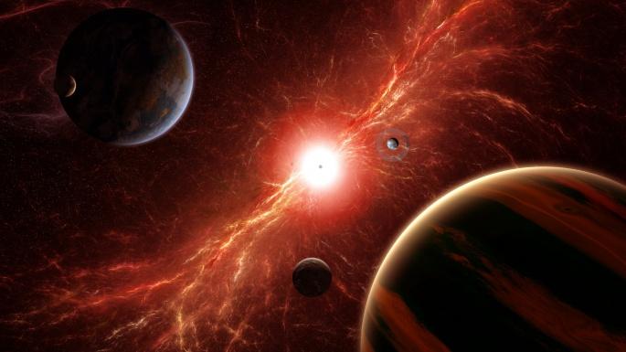 Космос. Огни Макрокосма (50 обоев)