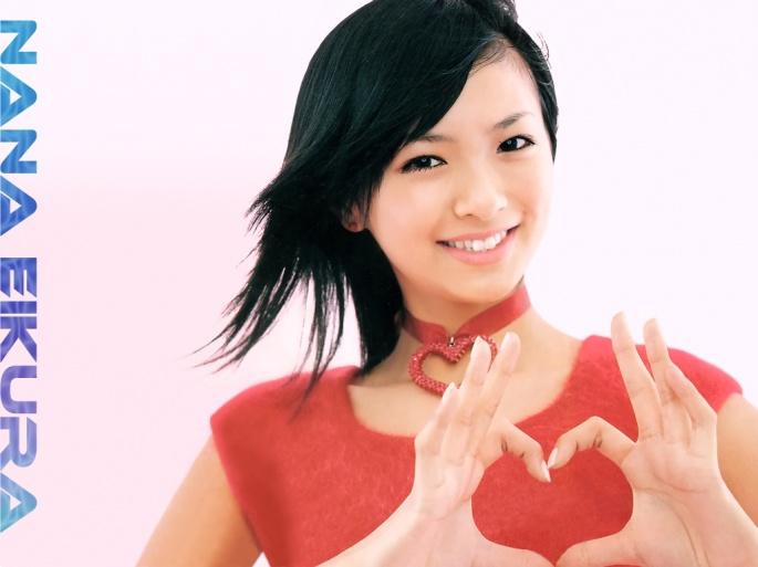 Японские актрисы. Eikura Nana (34 обоев)