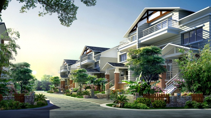 Архитектура и ландшафтный дизайн (270 обоев)
