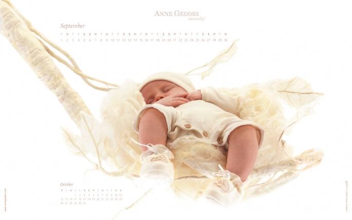 Фотообои Анны Геддес (Anne Geddes) (909 обоев)