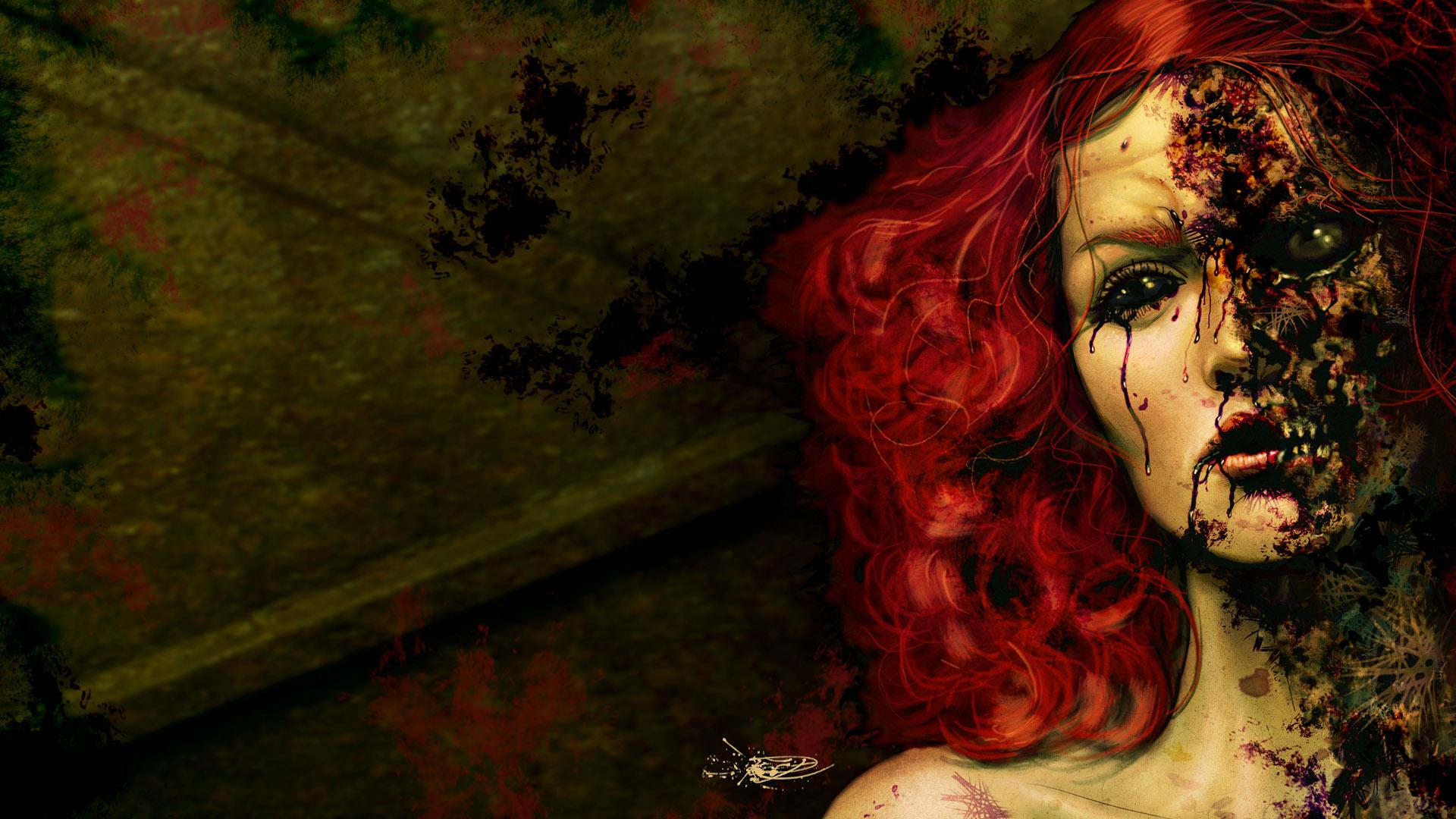 Zombie fuck girl porncraft image