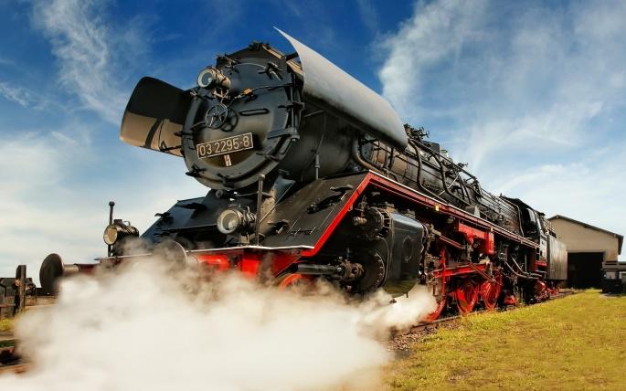 Поезда (40 обоев)