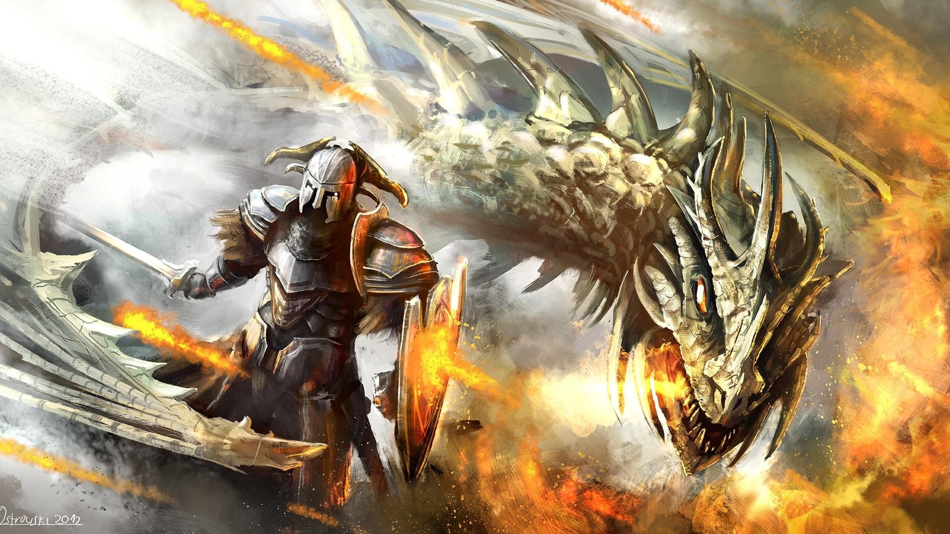 Epic fantasy wallpaper