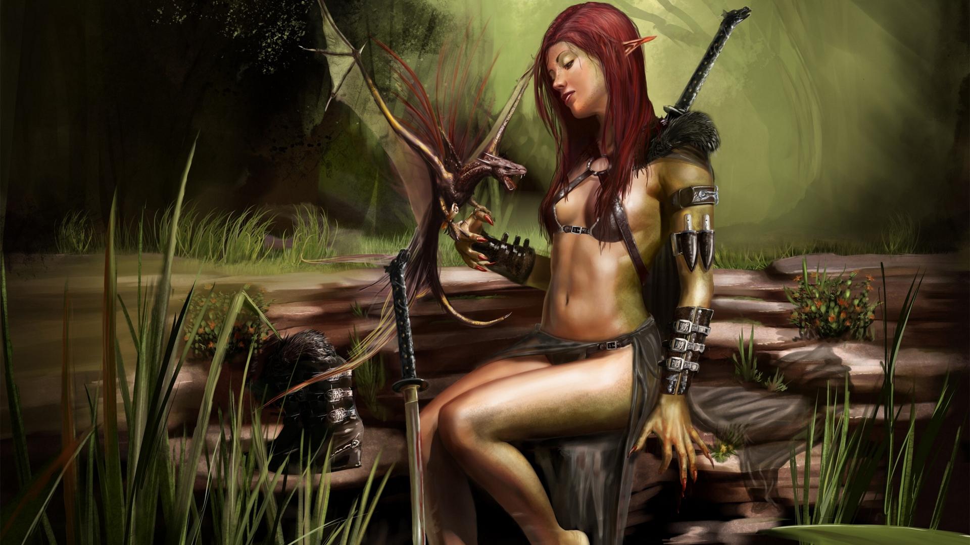 Sexy elf wallpaper nude pics