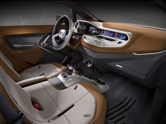 Интерьер автомобиля GMC (14 обоев)