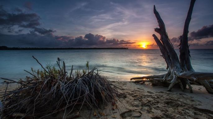 Природа. Морские закаты (100 обоев)
