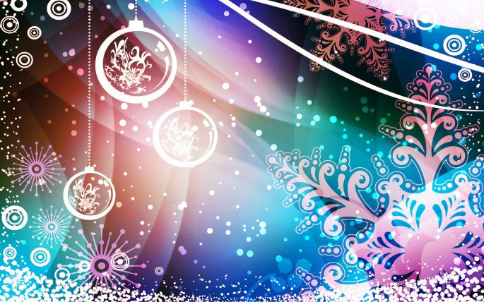 Новогодние обои (15 обоев)