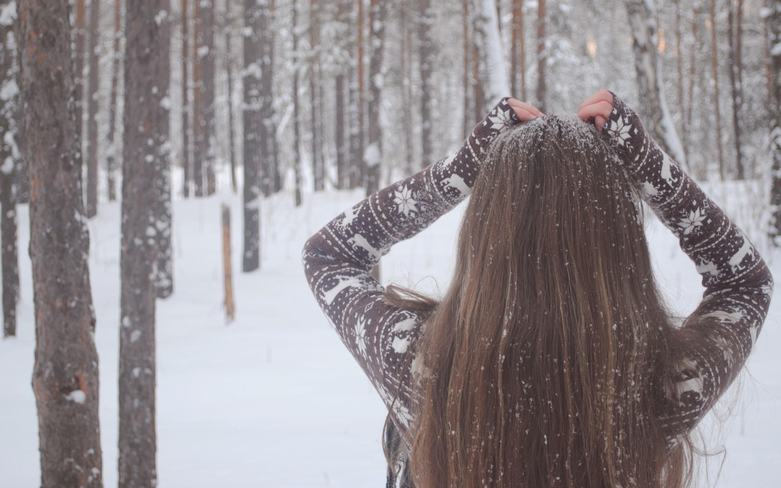 Зима фотографии девушек 3