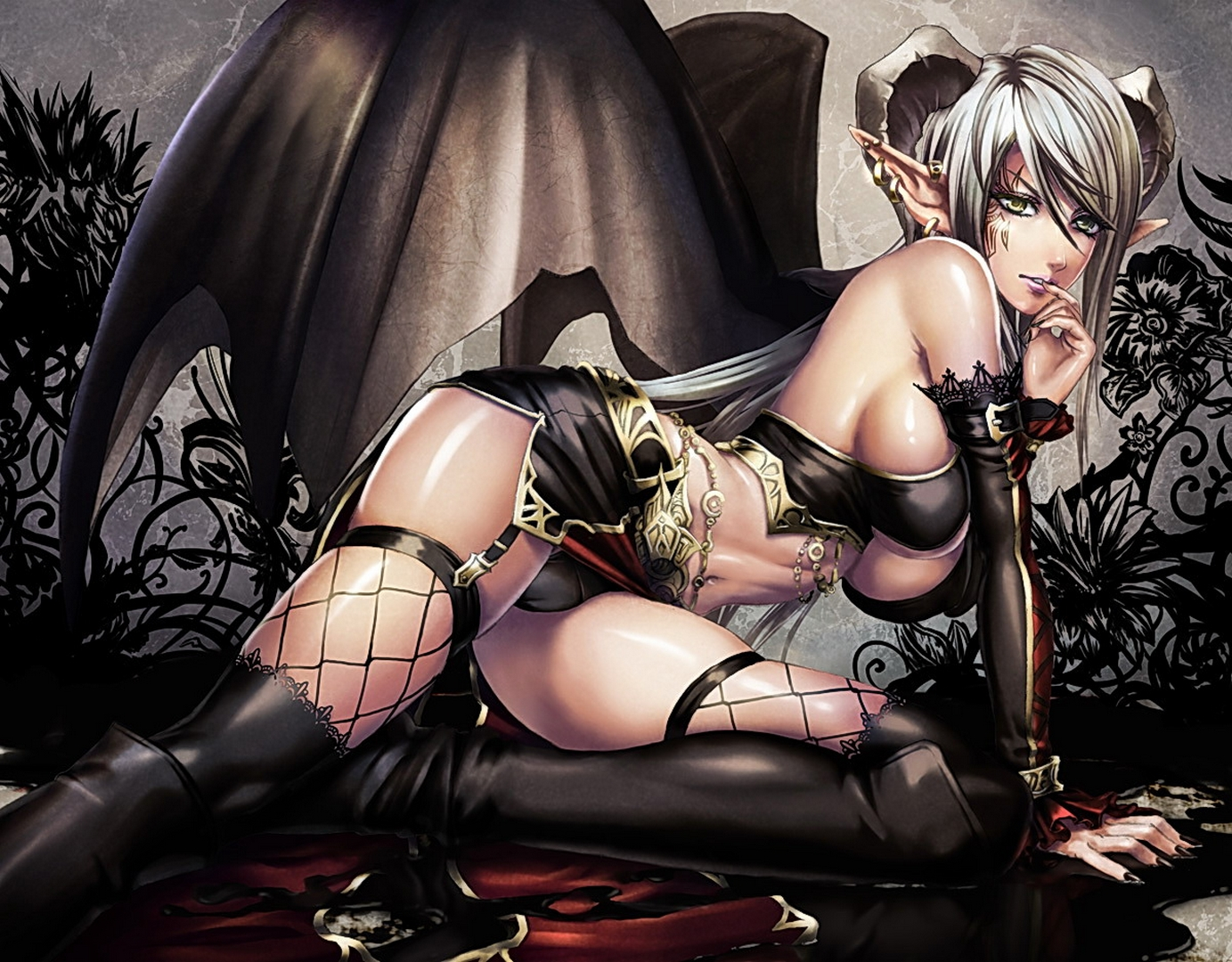 Nude drawings of gothic women hentia movies