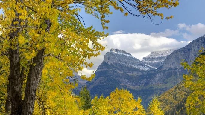 Природа. Эта осень в горах - как одно волшебство (100 обоев)